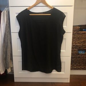 The Limited Black Work Top
